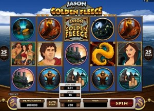 Jason Golden Fleece video slot