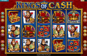 Kings of Cash video slot