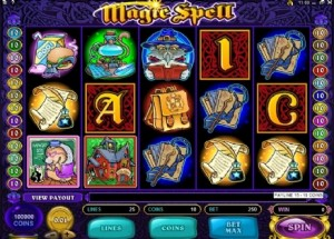 Magic Spell video slot