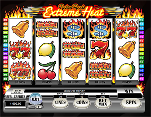 Retro Reels Extreme Heat video slot