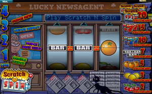 Scratch 'N Spin video slot