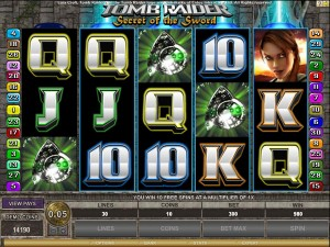 Tom Raider 2 video slot