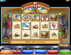 Around the World video slot