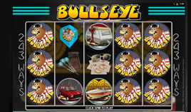 Bullseye video slot