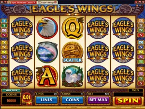 Eagles Wings video slot