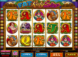 Fat Lady sings video slot
