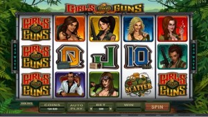 Girl with Guns video slot