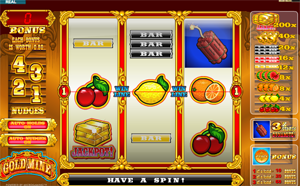 Goldmine video slot