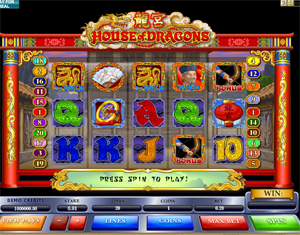 House of Dragons video slot