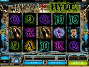 Dr Jekyll and Mr Hide video slot