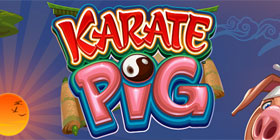 Karate Pig video slot