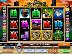Money mad Monkey video slot