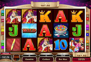 Old King Cole video slot