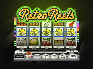 Retro Wheels video slot