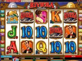 Riviera Riches video slot