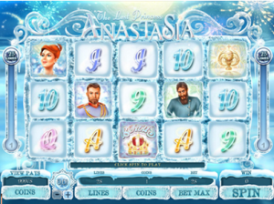 The Lost Princess Anastasia video slot