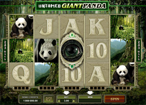 Untamed Giant Panda video slot